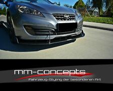 CUP Spoilerlippe Tie Bars für Hyundai Genesis MK1 Coupé Frontspoiler Spoiler