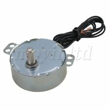 AC 220 V 0.8-1 RPM Non-Directional Synchronous Motor Silver