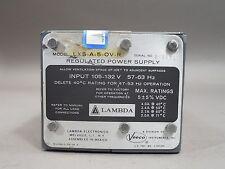 Lambda LXS-A-5-OV-R Regulated Power Supply - Used