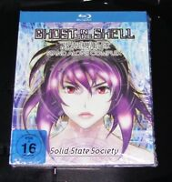 GHOST IN THE SHELL STAND ALONE COMPLEX MEDIABOOK EDITION BLU RAY NEU & OVP