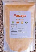 Papaya 1 Lb Fruit Powder  by PURO SKIN HAIR HEALTH FRESH BRAZIL Non GMO