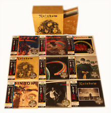 Rainbow - 9 Mini LP SHM CD Japan 2008 + Promo-Box VERY RARE OOP Blackmore Dio!!!