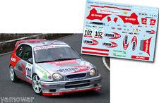 Decal 1:43 Luis Monzon - TOYOTA COROLLA WRC  Rally El Corte Ingles 2004