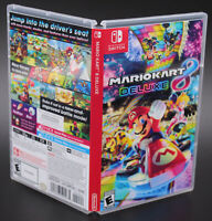 Mario Kart 8 Deluxe Nintendo Switch Replacement Game Case Cover Art NO GAME DISC