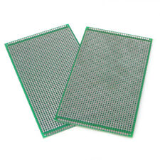 2x 9x15cm Double Side Prototype DIY PCB Tinned Glass Fiber Soldering Board