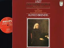 LISZT Late Piano Works LP w/INSERT Alfred Brendel PHILIPS Holland 9500 775 @N/M@