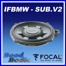 """Focal IFBMW-SUB V.2 8"""" BMW 1, 3 Serires X1 Custom Fit  Underseat Car Sub 90W"""