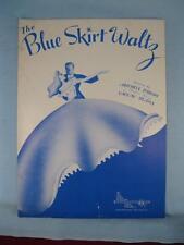 The Blue Skirt Waltz Sheet Music Vintage 1948 Mitchell Parish Vaclav Blaha (O)