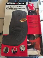 Health-O-Meter Full Contour 5-Motor Cushion Seat Massager Auto/Office