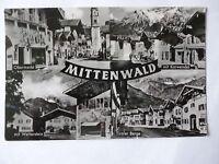 Ansichtskarte Mittenwald  (Nr.599)