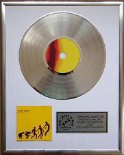 """Take That-Progress CD/COVER incorniciato + 12"""" DECORAZIONI D'ORO vinile disco"""