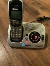 Uniden 1580- 1 Cordless Digital Answering System Phone DECT6.0 1 Handset Working