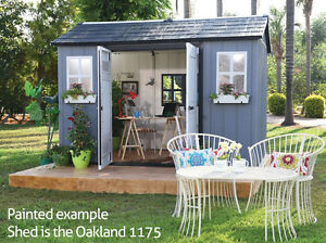Keter Oakland 1175 Garden Shed - 10 Year Warranty