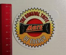 Aufkleber/Sticker: The Original Taste of Energy - Mars (250317110)