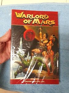 Warlord of mars Vol.1 omnibus rare out of print Conan , Thor , He-Man