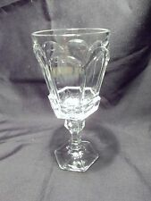 *NEW* Set of 8 Vintage Fostoria CRYSTAL CLEAR wine glass VIRGINIA pattern NOS