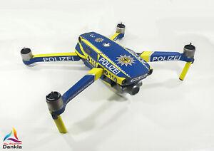 DJI MAVIC 2 PRO/ZOOM- SKIN - POLIZEI * - 3-5 Batterien - Drohne