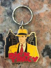 1980S Dick Tracy Metal Keychain Gift Creations Inc. Disney NOS