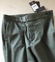 NWT $565 Roberto Cavalli  Mens Dress Pants Green Size 34 US ( 50 Eu ) Italy