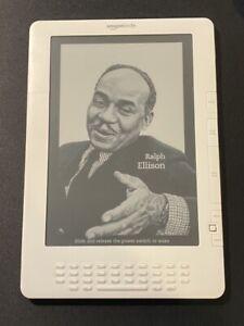 Kindle DX Gen 2 White 9.7in E-Reader 3G Model D006 - New Battery, works great!