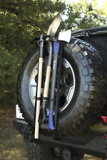 Rugged Ridge Recovery Overland Gear Spare Tire Tool Rack System X 13551.63