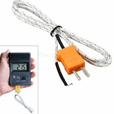 1M -50~650℃ K Type Thermocouple Probe Digital Temperature Sensor for Multimeter