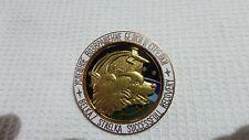 first  SPACE dog BELKA & STRELKA  Russian brass enamel pin badge   6028