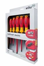 Wiha 6pc Soft Finish Screwdriver Set 1000V VDE Insulated - 6 PIECE KIT - 00833