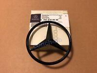 Mercedes C Class C63 W205 15-19 Coupe2Dr Rear Boot Badge Emblem Star Gloss Black
