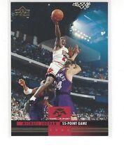 1993-94 UPPER DECK BASKETBALL MR. JUNE MICHAEL JORDAN #MJ7 55 POINT GAME