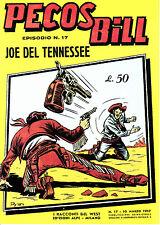 Pecos Bill n°17 albi a colori edizione Mercury