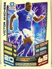 Match ATTAX 2012/13 premier League - #072 victor Anichebe-Everton