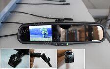 "Rear view mirror+3.5""backup camera display,fit Honda Civic,Accord,Odyssey,AU"