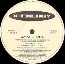 JAMIE DEE - People (Everybody Needs Love) - X-Energy - X-12154 - Ita