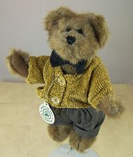 BOYDS BEAR MATTHEW in KNIT SWEATER #91756-08 with TAG Bailey's Friend