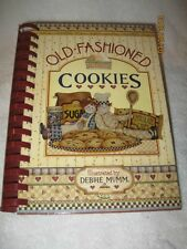 OLD-FASHIONED COOKIES DEBBIE MUMM BAKING CUTOUTS DROPS BARS CHIPS TEA OLD-WORLD