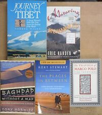 Travels in Central Asia Silk Road Middle East Trek Tibet Marco Polo 5 book lot