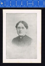 Frances Elizabeth Willard, American Educator - Antique Portrait Print 1896