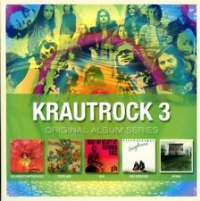 VARIOUS/KRAUTROCK - ORIGINAL ALBUM SERIES VOL.3  5 CD NEUF
