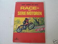 RACE EN SERIE MOTOREN WAT WEET IK VAN NORTON,BSA M20,LAMBRETTA,MONTESA,VINCENT,
