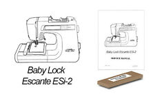 Baby Lock Escante ESi-2 LCD Replacement Backlight Back Light ON SALE!
