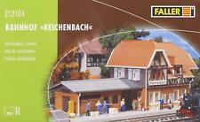 """Faller 212104 N - Bahnhof """" Reichenbach """" NEU & OvP"""