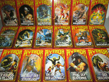 MYTHOR Band 1-17 komplett Hardcover Weltbild Verlag 2000/2001 Fantasy Romane
