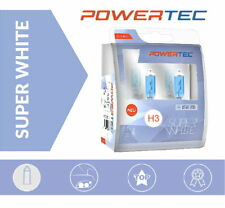 Powertec H3 SuperWhite Xenon Look Optik +100% Halogen Lampen Duobox