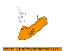 FORD OEM 05-11 Crown Victoria-Side Marker Light Lamp Right 6W7Z15A201AA