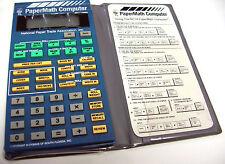 NEW VINTAGE - MEGA RARE NPTA CYGNUS CALCULATOR PAPER MATH PAPERMATH COMPUTER 301