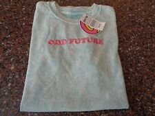 Odd Future Women's Mint Green T-Shirt Small Tie Dye NWT Donut