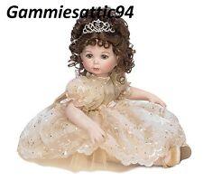 """Marie Osmond Crystal 15th Anniv Doll Full Size 12"""" Porcelain Doll New NRFB COA"""