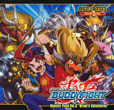 Future Card BUDDYFIGHT BFE-BT03 Drum's Adventures Booster Box 30ct SEALED!!