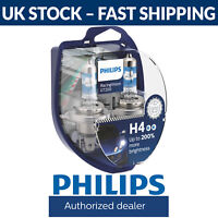 Philips RacingVision GT200 Racing Vision GT 200 Car Headlight Bulbs H4 (Twin)